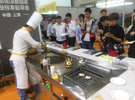 Multifunctional Combi Teppanyaki Grill Table with Soup Stove and Barbecue Grill